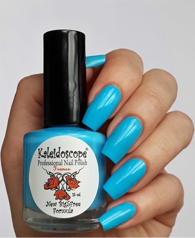 El Corazon, Kaleidoscope № L-03 На пляжеЛаки Kaleidoscope<br>Лак для ногтей яркий голубой,плотный.<br>