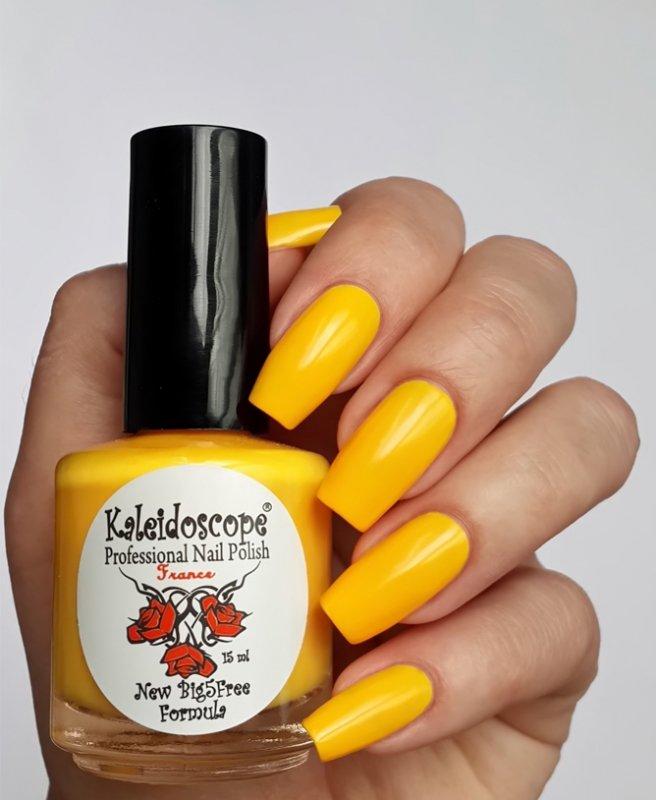 El Corazon, Kaleidoscope № L-08 На шопингеЛаки Kaleidoscope<br>Лак для ногтей яркий мандариновый,плотный.<br>