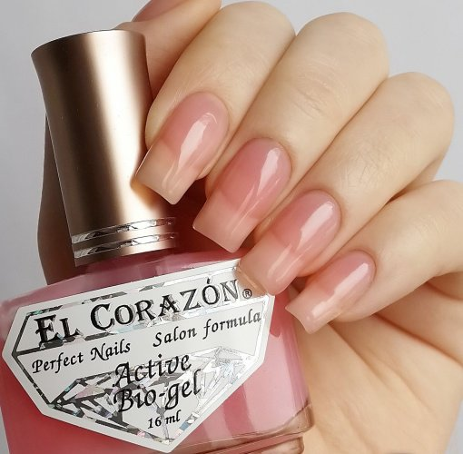 El Corazon Active Bio-gel № 423Лечебный биогель El Corazon<br>Био-гель базовый, без блесток и перламутра, полупрозрачный. Объем 16 ml.<br>