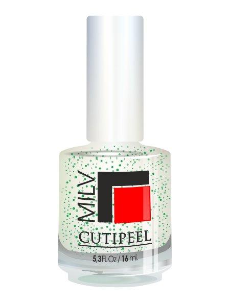 Milv, Cutipeel - Скраб для ногтей (Зеленый чай), 16 млЛечебные и укрепляющие средства Milv<br>Средство - скраб для ногтей, кутикулы и ороговевшей кожи с увлажняющим эффектом.<br>