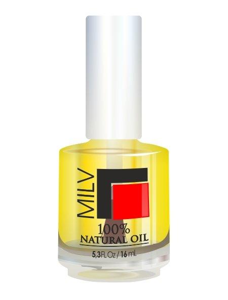 Milv, 100% Natural Oil - Масло натуральное, 16 мл (MILV)