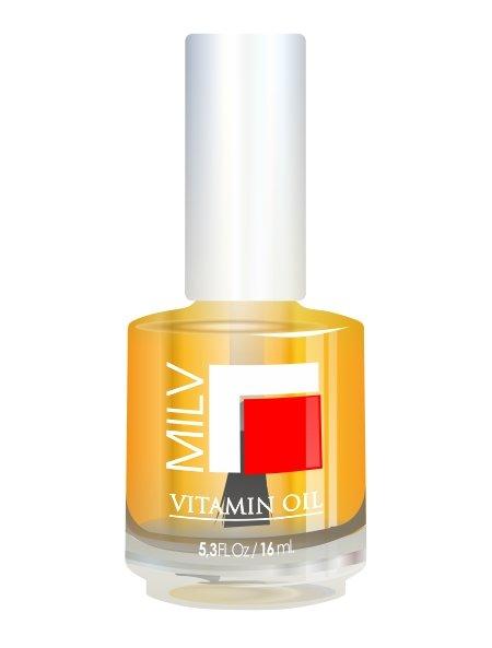 Milv, Vitamin Oil - Витаминное масло (Апельсин), 16 мл (MILV)