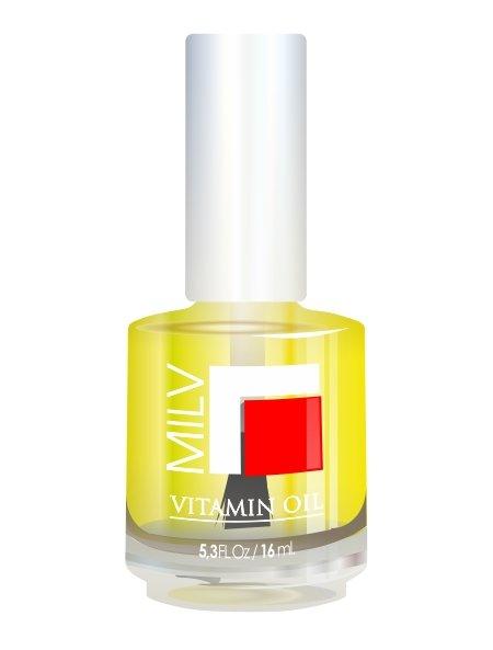 Milv, Vitamin Oil - Витаминное масло (Лимон), 16 млМасла для кутикулы<br>Витаминное масло «Лимон»<br>