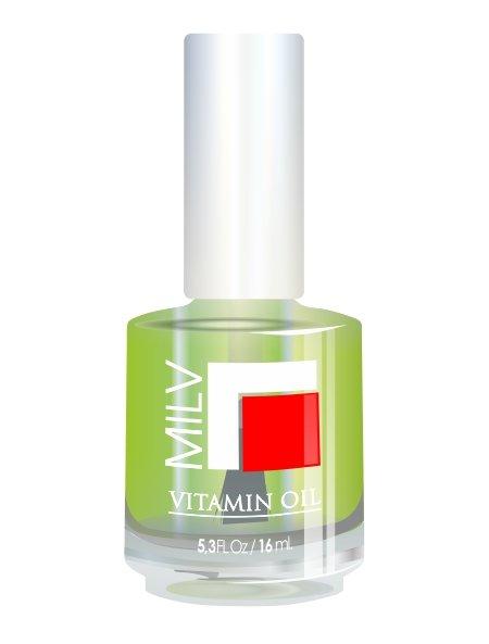 Milv, Vitamin Oil - Витаминное масло (Чайное дерево), 16 млМасла для кутикулы<br>Витаминное масло «Чайное дерево»<br>