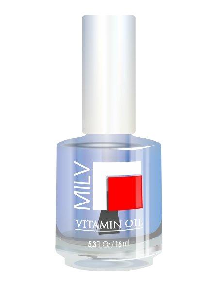 Milv, Vitamin Oil - Витаминное масло (Мята), 16 млМасла для кутикулы<br>Витаминное масло «Мята»<br>