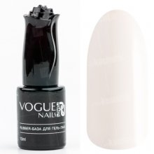 Vogue Nails, Rubber-база для гель-лака Натурально-Белая (10 мл.)