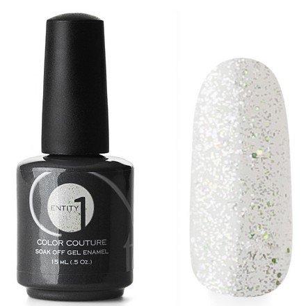 Entity One Color Couture, цвет №5380 Dazzle Me With Diamonds 15 mlColor Couture Entity One<br>Гель-лак прозрачный с мелкими серебристыми и крупными голографическими блестками<br>