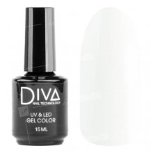 Diva, Gel color - Гель-лак №001 (15 мл.)