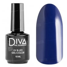 Diva, Gel color - Гель-лак №006 (15 мл.)