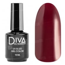 Diva, Gel color - Гель-лак №016 (15 мл.)