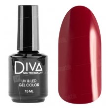 Diva, Gel color - Гель-лак №017 (15 мл.)