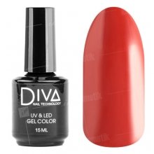 Diva, Gel color - Гель-лак №018 (15 мл.)