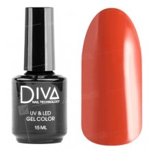 Diva, Gel color - Гель-лак №019 (15 мл.)