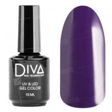 Diva, Gel color - Гель-лак №021 (15 мл.)