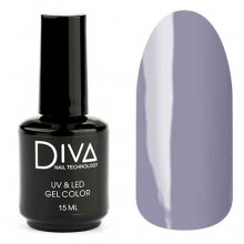 Diva, Gel color - Гель-лак №023 (15 мл.)