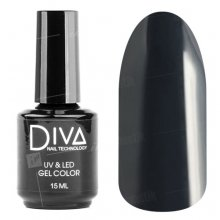 Diva, Gel color - Гель-лак №034 (15 мл.)