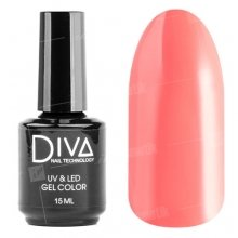 Diva, Gel color - Гель-лак №105 (15 мл.)