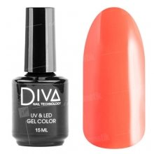 Diva, Gel color - Гель-лак №115 (15 мл.)