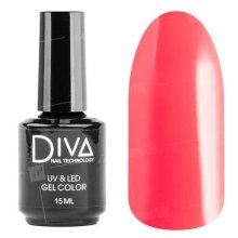 Diva, Gel color - Гель-лак №116 (15 мл.)