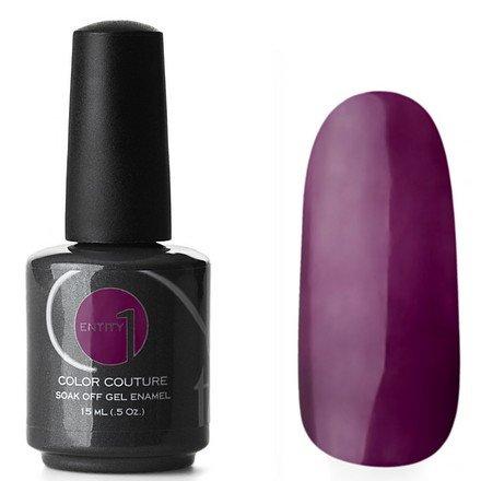 Entity One Color Couture, цвет №2471 Midnight Runaway 15 mlColor Couture Entity One<br>Гель-лактеплый темно-баклажановый оттенок, без блесток и перламутра, плотный<br>