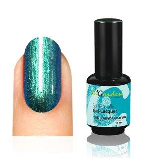 InGarden So Naturally, цвет №146 Голубая ЛогунаInGarden So Naturally<br>Гель-лак морской зеленый металлик, с шиммером, плотный.<br>