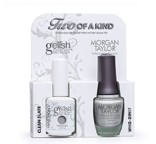 01825 DUO Gelish/Morgan Taylor - Набор Get Color FallHarmony Gelish<br>Набор Get Color Fall (01844 + 50138 по 15 мл)<br>