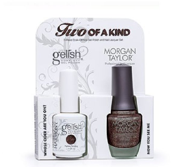 01826 DUO Gelish/Morgan Taylor - Набор Get Color FallHarmony Gelish<br>Набор Hello Pretty (01848 + 50141 по 15 мл)<br>