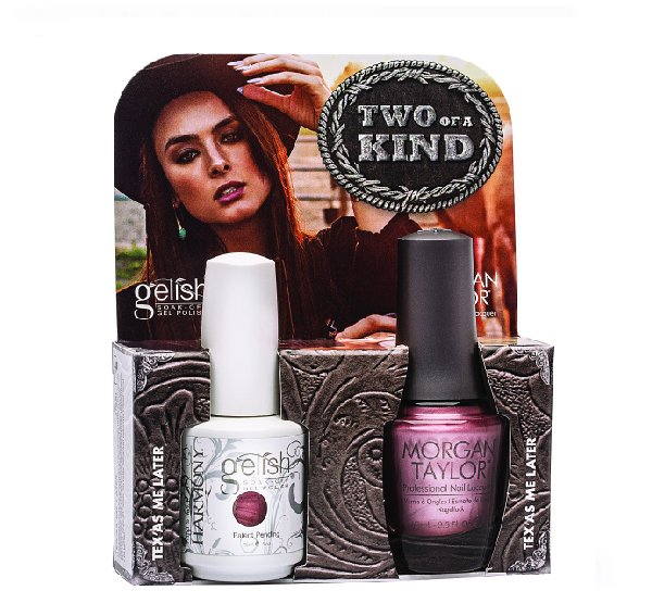 01093 DUO Gelish/Morgan Taylor - Набор Urban CowgirlHarmony Gelish<br>Набор Hello Pretty (01072 + 50186 по 15 мл)<br>