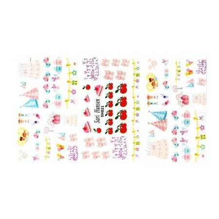 TNL, Наклейки Корейский маникюр SH021Наклейки Корейский маникюр TNL<br><br>