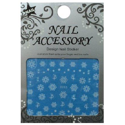 Nail Accessory, Водный стикер J&amp;Z (снежинки) - D265Водный стикер Nail Accessory<br><br>
