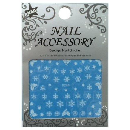 Nail Accessory, Водный стикер J&amp;Z (снежинки) - D260Водный стикер Nail Accessory<br><br>