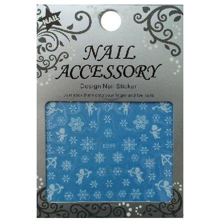 Nail Accessory, Водный стикер J&amp;Z (снежинки) - D266Водный стикер Nail Accessory<br><br>