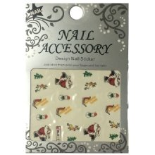 Nail Accessory, Водный стикер J&Z (New Year) - BLE111