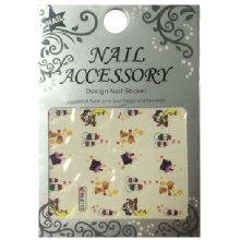 Nail Accessory, Водный стикер J&Z (New Year) - BLE112