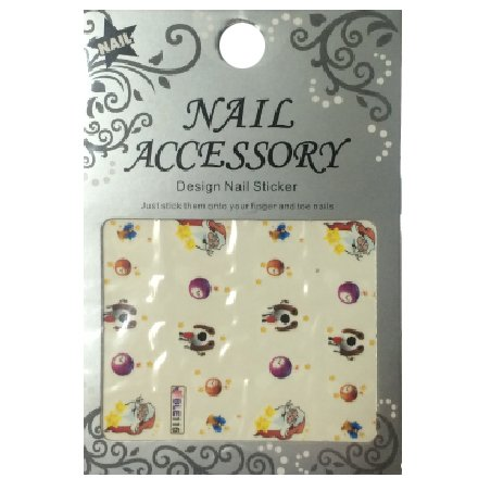 Nail Accessory, Водный стикер J&amp;Z (New Year) - BLE116Водный стикер Nail Accessory<br><br>