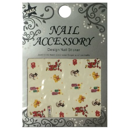 Nail Accessory, Водный стикер J&amp;Z (New Year) - BLE115Водные стикеры Nail Accessory<br><br>