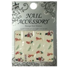 Nail Accessory, Водный стикер J&Z (New Year) - BLE118
