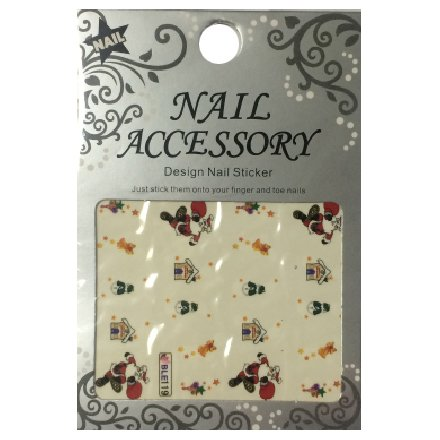Nail Accessory, Водный стикер J&amp;Z (New Year) - BLE119Водный стикер Nail Accessory<br><br>