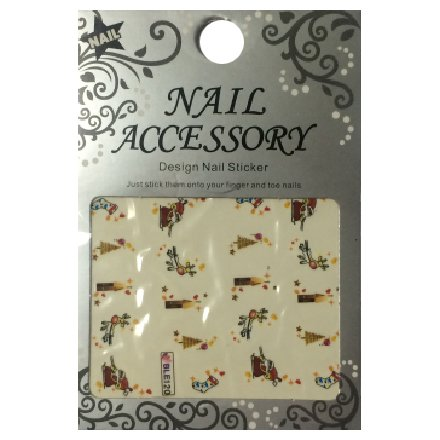 Nail Accessory, Водный стикер J&amp;Z (New Year) - BLE120Водные стикеры Nail Accessory<br><br>
