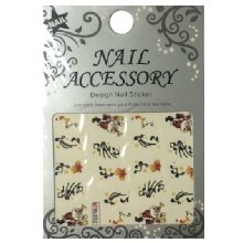 Nail Accessory, Водный стикер J&Z (New Year) - BLE121