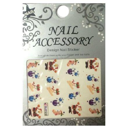 Nail Accessory, Водный стикер J&amp;Z (New Year) - BLE122Водный стикер Nail Accessory<br><br>