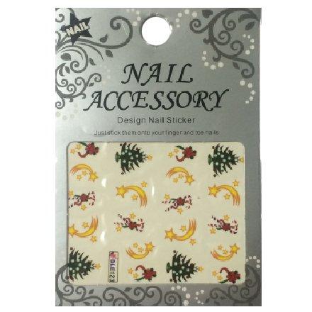 Nail Accessory, Водный стикер J&amp;Z (New Year) - BLE123Водный стикер Nail Accessory<br><br>