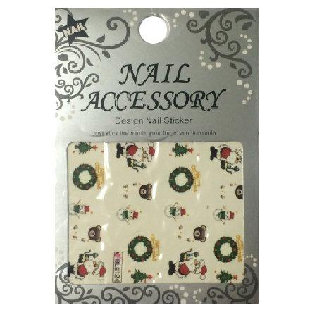 Nail Accessory, Водный стикер J&amp;Z (New Year) - BLE124Водный стикер Nail Accessory<br><br>