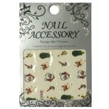 Nail Accessory, Водный стикер J&Z (New Year) - BLE125