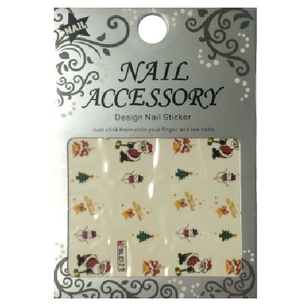 Nail Accessory, Водный стикер J&amp;Z (New Year) - BLE127Водный стикер Nail Accessory<br><br>
