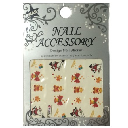 Nail Accessory, Водный стикер J&amp;Z (New Year) - BLE129Водный стикер Nail Accessory<br><br>