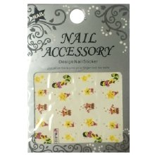 Nail Accessory, Водный стикер J&Z (New Year) - BLE131