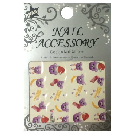Nail Accessory, Водный стикер J&amp;Z (New Year) - BLE132Водный стикер Nail Accessory<br><br>