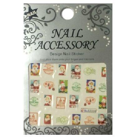Nail Accessory, Водный стикер J&amp;Z (New Year) - BLE2330Водный стикер Nail Accessory<br><br>