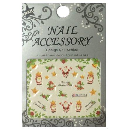 Nail Accessory, Водный стикер J&amp;Z (New Year) - BLE2333Водный стикер Nail Accessory<br><br>